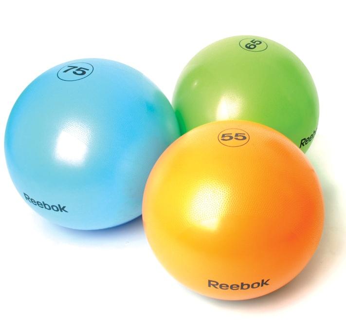 reebok gymball gymnastikball 75 cm blau mader medical. Black Bedroom Furniture Sets. Home Design Ideas